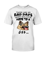 No Bad Days With Gsd  Classic T-Shirt thumbnail