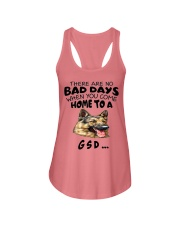 No Bad Days With Gsd  Ladies Flowy Tank thumbnail