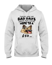 No Bad Days With Gsd  Hooded Sweatshirt thumbnail