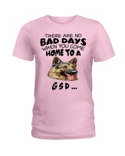No Bad Days With Gsd  Ladies T-Shirt thumbnail
