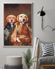 Golden Retriever Portrait 11x17 Poster lifestyle-poster-1