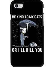 Be Kind To My Cats Phone Case thumbnail