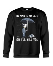 Be Kind To My Cats Crewneck Sweatshirt tile