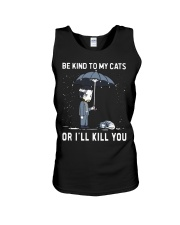 Be Kind To My Cats Unisex Tank thumbnail