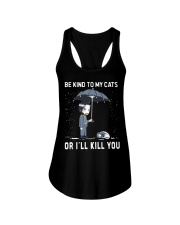 Be Kind To My Cats Ladies Flowy Tank thumbnail