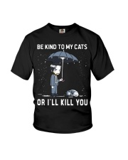Be Kind To My Cats Youth T-Shirt thumbnail