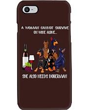 Woman Need Doberman Phone Case thumbnail