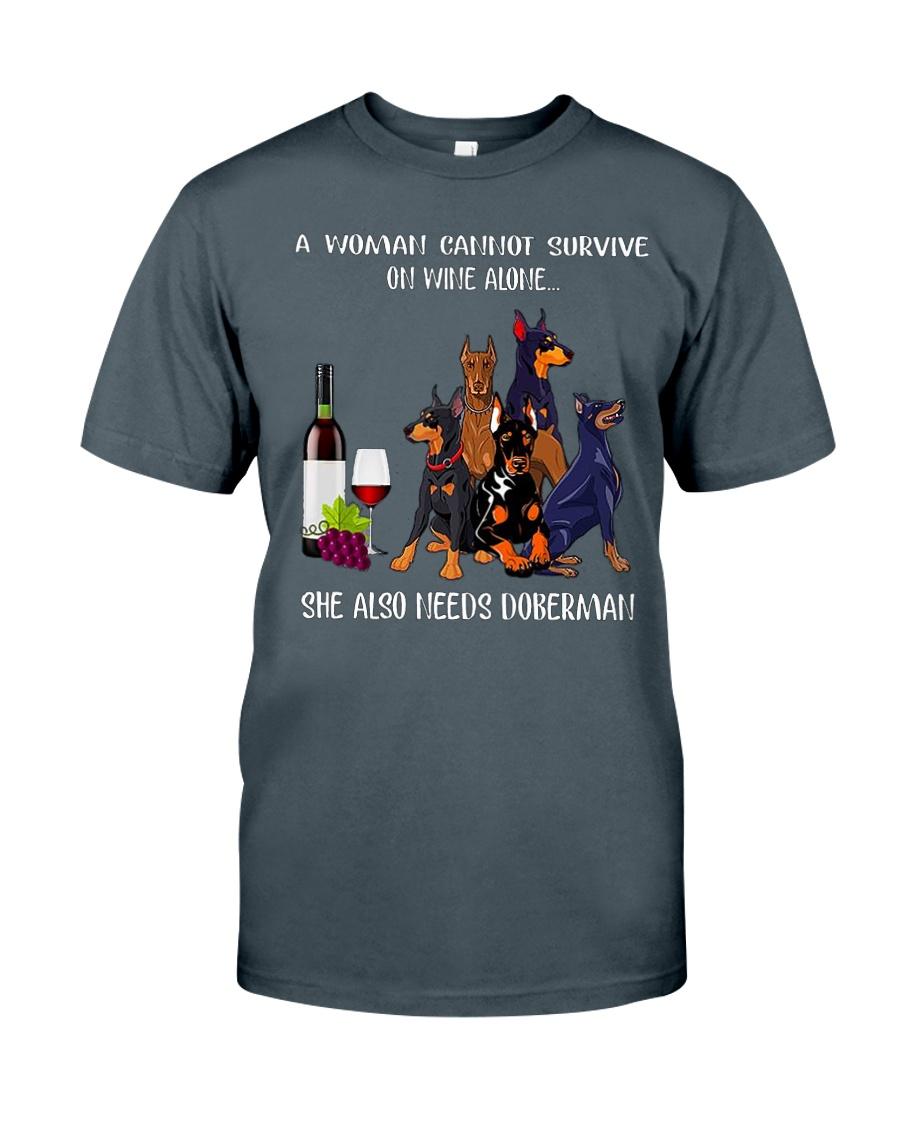 Woman Need Doberman Classic T-Shirt
