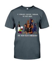 Woman Need Doberman Classic T-Shirt front