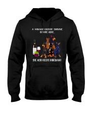 Woman Need Doberman Hooded Sweatshirt thumbnail