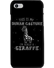 Giraffe Costume Phone Case thumbnail