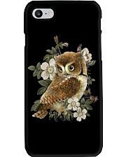 OWL AND FLOWERS  Phone Case thumbnail
