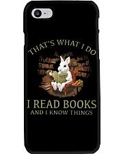 RABBIT - I READ BOOKS  Phone Case thumbnail