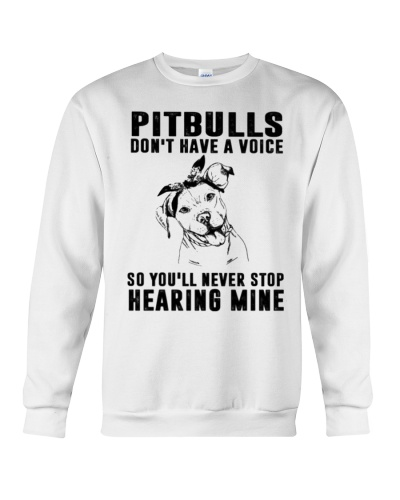 Pitbull Don't Have Voice