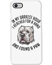 In My Darkest i Found My Pitbull Phone Case thumbnail