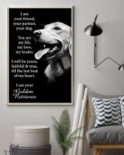 Golden Retriever Poster 11x17 Poster lifestyle-poster-1