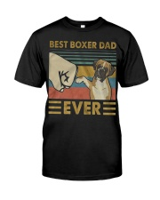 Boxer Dad Best Ever Classic T-Shirt front