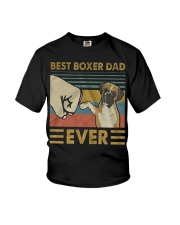 Boxer Dad Best Ever Youth T-Shirt thumbnail