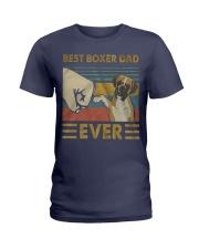 Boxer Dad Best Ever Ladies T-Shirt thumbnail