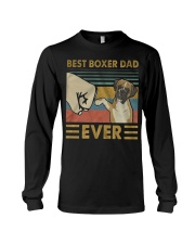 Boxer Dad Best Ever Long Sleeve Tee thumbnail