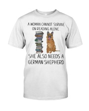 Woman Also Need German Shepherd Classic T-Shirt front