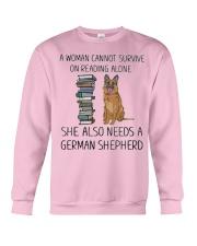 Woman Also Need German Shepherd Crewneck Sweatshirt thumbnail