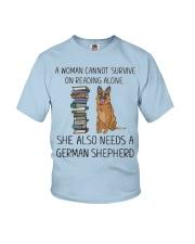 Woman Also Need German Shepherd Youth T-Shirt thumbnail