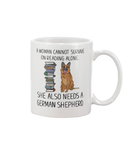 Woman Also Need German Shepherd