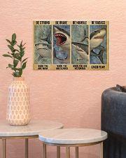 Shark Badass 17x11 Poster poster-landscape-17x11-lifestyle-21