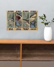 Shark Badass 17x11 Poster poster-landscape-17x11-lifestyle-24