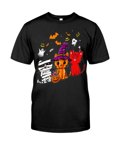 Cats Trio Halloween