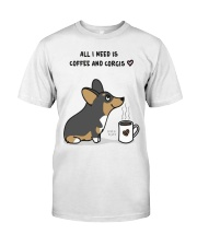 My Corgi and Coffee Classic T-Shirt front