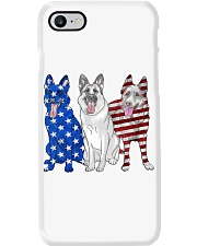 German Shepherd Flag Phone Case tile