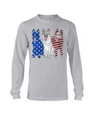 German Shepherd Flag Long Sleeve Tee tile
