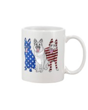 German Shepherd Flag Mug thumbnail