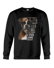 Boxer Believe Crewneck Sweatshirt thumbnail
