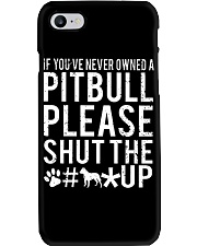 Pitbull Owned Phone Case thumbnail
