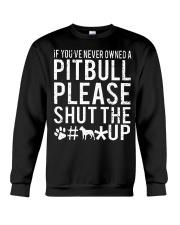 Pitbull Owned Crewneck Sweatshirt thumbnail