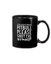 Pitbull Owned Mug thumbnail