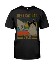 Cat Dad Classic T-Shirt front