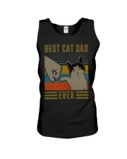 Cat Dad Unisex Tank thumbnail