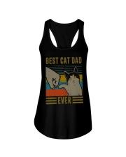 Cat Dad Ladies Flowy Tank thumbnail