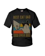 Cat Dad Youth T-Shirt thumbnail
