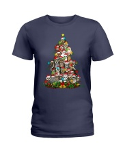 OWLS CHRISTMAS Ladies T-Shirt thumbnail
