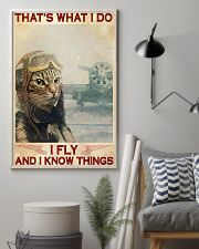 That's What I Do I FLY And I Know Things 11x17 Poster lifestyle-poster-1