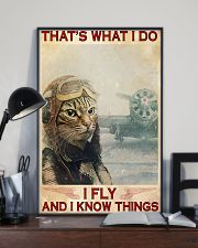 That's What I Do I FLY And I Know Things 11x17 Poster lifestyle-poster-2