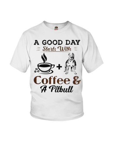A Good Day Starts With Pitbull and Coffee