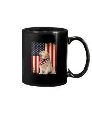 Golden Retriever Flag Mug thumbnail