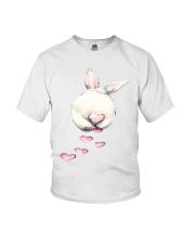 Rabbit Bunny Heart  Youth T-Shirt thumbnail