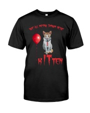 Cat Halloween Kitten Classic T-Shirt front